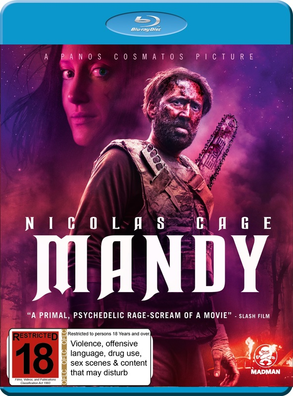 Mandy on Blu-ray