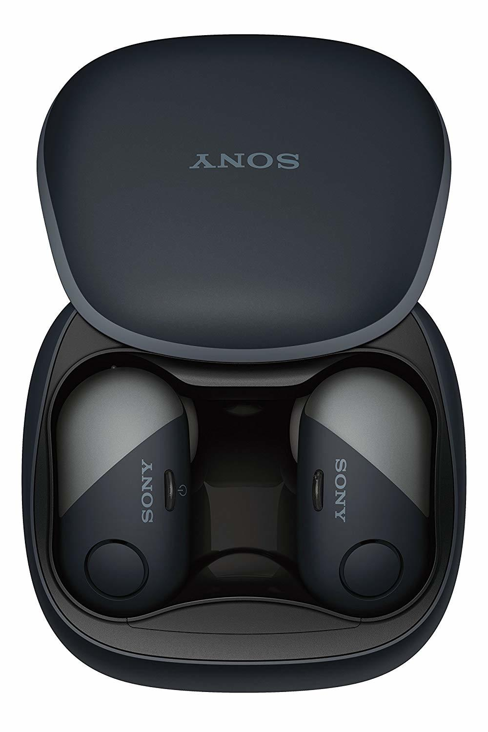 Sony: WFSP700NB - Complete Sports Noise Cancelling Headphones (Black) image