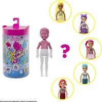 Barbie: Color Reveal Chelsea Doll - MonoChrome Series (Blind Box)