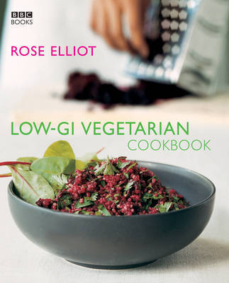 Low-GI Vegetarian Cookbook by Rose Elliot image