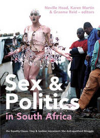 Sex and Politics in South Africa by Martin Hoad image