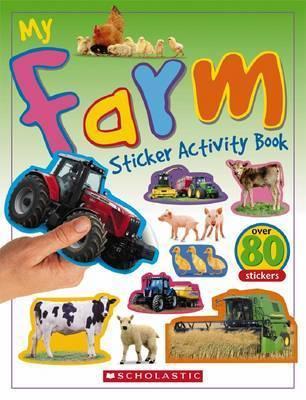 My Farm Sticker Activity Book by Chez Pitchall