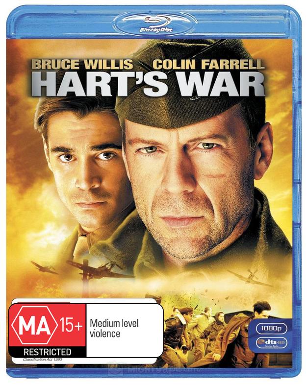 Hart's War on Blu-ray