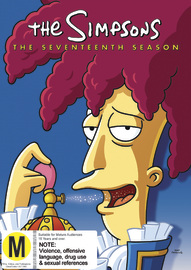 The Simpsons - The Seventeenth Season on DVD image