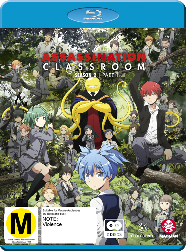 Assassination Classroom: Season 2 - Part 1 (Eps 1-13) on Blu-ray