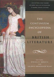 The Continuum Encyclopedia of British Literature by Steven R. Serafin image
