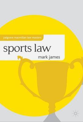 Sports Law by Mark James image