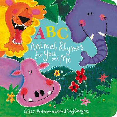ABC Animal Rhymes for You and Me by Giles Andreae image