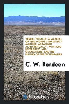 Verbal Pitfalls by C W Bardeen