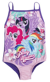 My Little Pony: Pony Dreams - Girls Swim Suit (5-6 Years)