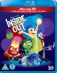 Inside Out on 3D Blu-ray