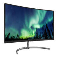 """27"""" Philips Curved LCD Monitor with Ultra Wide-Colour image"""
