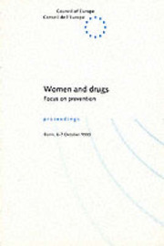 Women and Drugs: Focus on Prevention - Symposium Proceedings by Council of Europe image