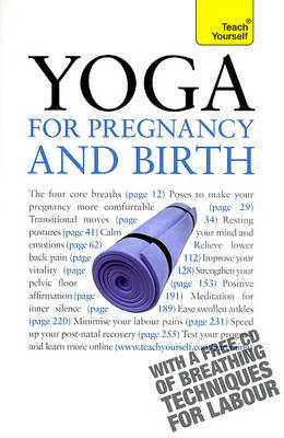 Yoga for Pregnancy and Birth: A Teach Yourself Guide by Dinsmore-Tulli Uma image