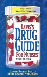 Davis's Drug Guide for Nurses by Judith Hopfer Deglin image
