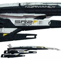 Mass Effect SSV Normandy Ship Replica - SR-2 Cerberus Variant