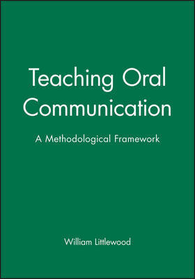 Teaching Oral Communication by William Littlewood image