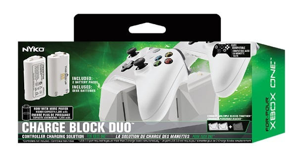 Nyko Xbox One S Charge Block Duo for Xbox One image