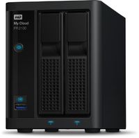 12TB WD My Cloud Pro Series PR2100 2-Bay Gigabit Ethernet External NAS