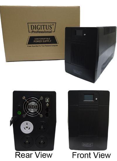 Digitus Line Interactive 2000VA UPS (2000VA / 1200W) image