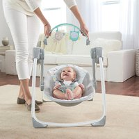 Ingenuity: Comfort 2 Go Portable Swing - Fanciful Forest image