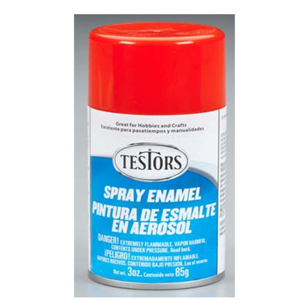 Model Master: Enamel Aerosol - Bright Red