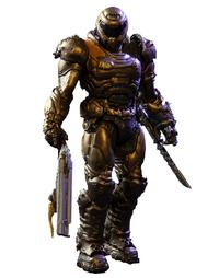 """Doom: Doom Slayer (Bronze) - 7"""" Articulated Figure"""