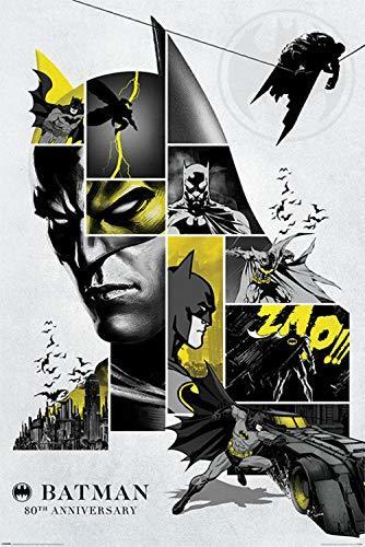 DC Comics: Maxi Poster - Batman 80th Anniversay (1030)