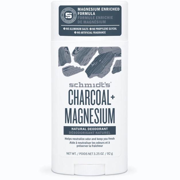 Schmidt's Deodorant Stick - Charcoal Magnesium (75g)