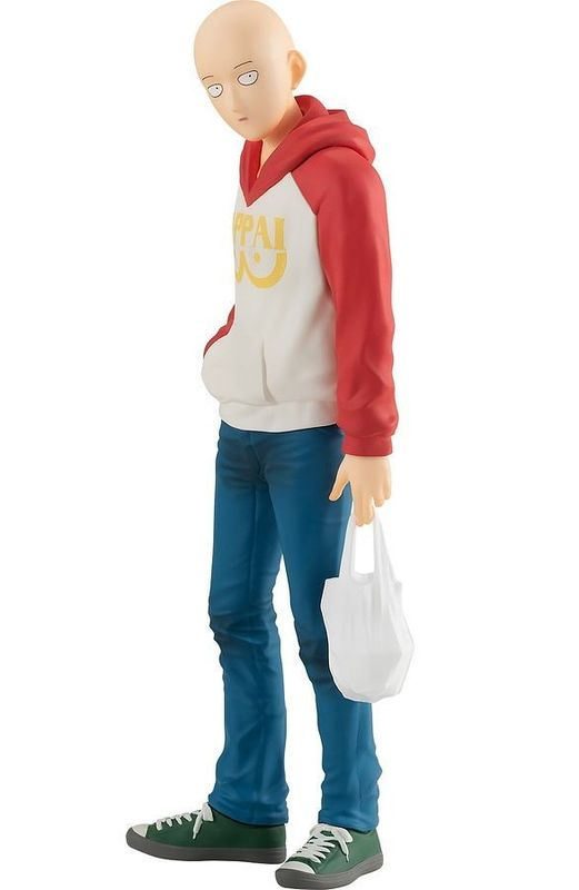 POP UP PARADE: Saitama (OPPAI Hoodie Ver.) - PVC Figure