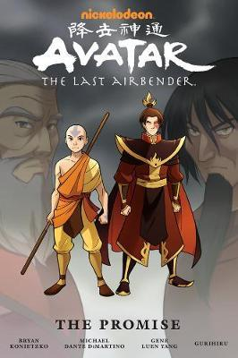 Avatar: The Last Airbender - The Promise Omnibus by Michael Dante DiMartino image