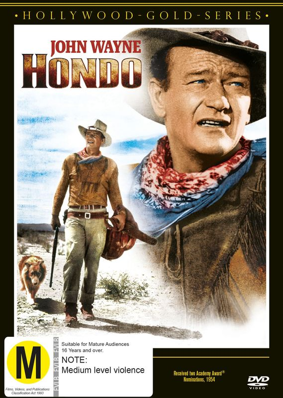 Hondo on DVD