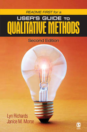 Readme First for a User's Guide to Qualitative Research by Professor Marilyn G. Richards image