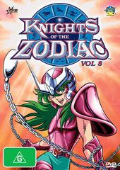 Knights Of The Zodiac: Vol 8 on DVD