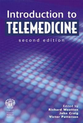 Introduction to Telemedicine by Richard Wootton image