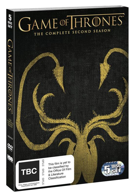 Game of Thrones - Season 2 DVD