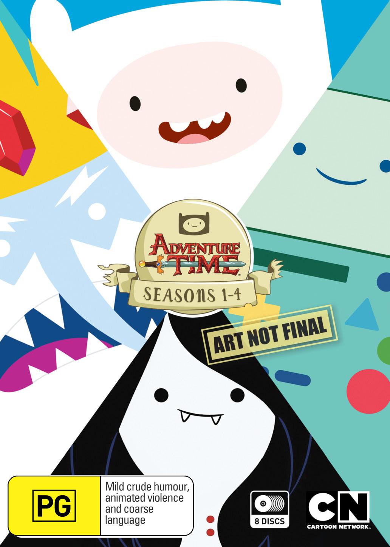 Adventure Time - Season 1-4 Box Set on DVD image