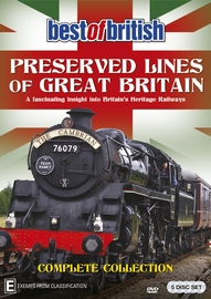 Preserved Lines Of Great Britain on DVD
