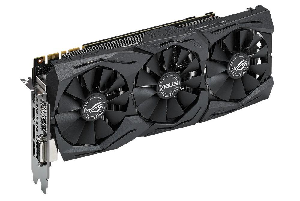 ASUS ROG Strix GeForce GTX 1080 8GB Graphics Card image