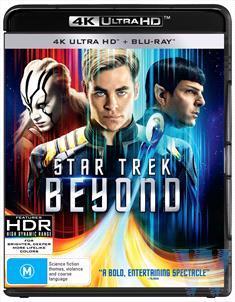 Star Trek Beyond on Blu-ray, UHD Blu-ray