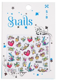 Snail: Nail Stickers Set (Story Telling)