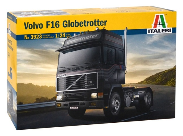 Italeri: 1/24 Volvo F-16 Globetrotter - Model Kit