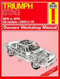 Triumph Stag Owner's Workshop Manual by J.H. Haynes image