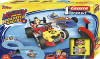 Carrera First: Disney Micky Roadstar Racers - Slot Car Set #1 image