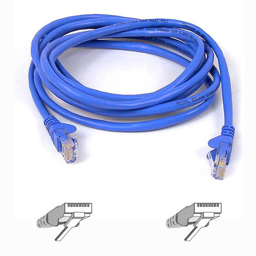 Belkin 1m Blue CAT5e Snagless Patch Cable image