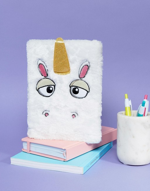 Buy Furry Unicorn Notebook at Mighty Ape NZ