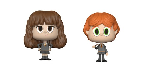Ron + Hermione (Broken Wand ver.) - Vynl. Figure 2-Pack