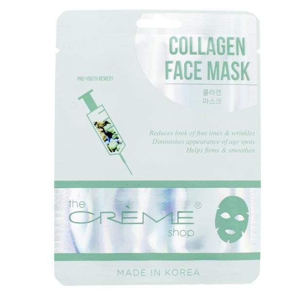 The Crème Shop Collagen Essence Infused Facial Mask