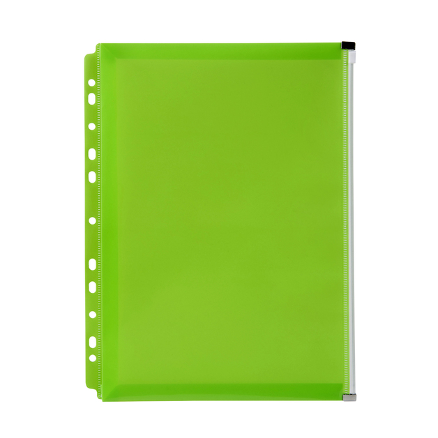 Marbig: Zip Binder Pocket - Lime