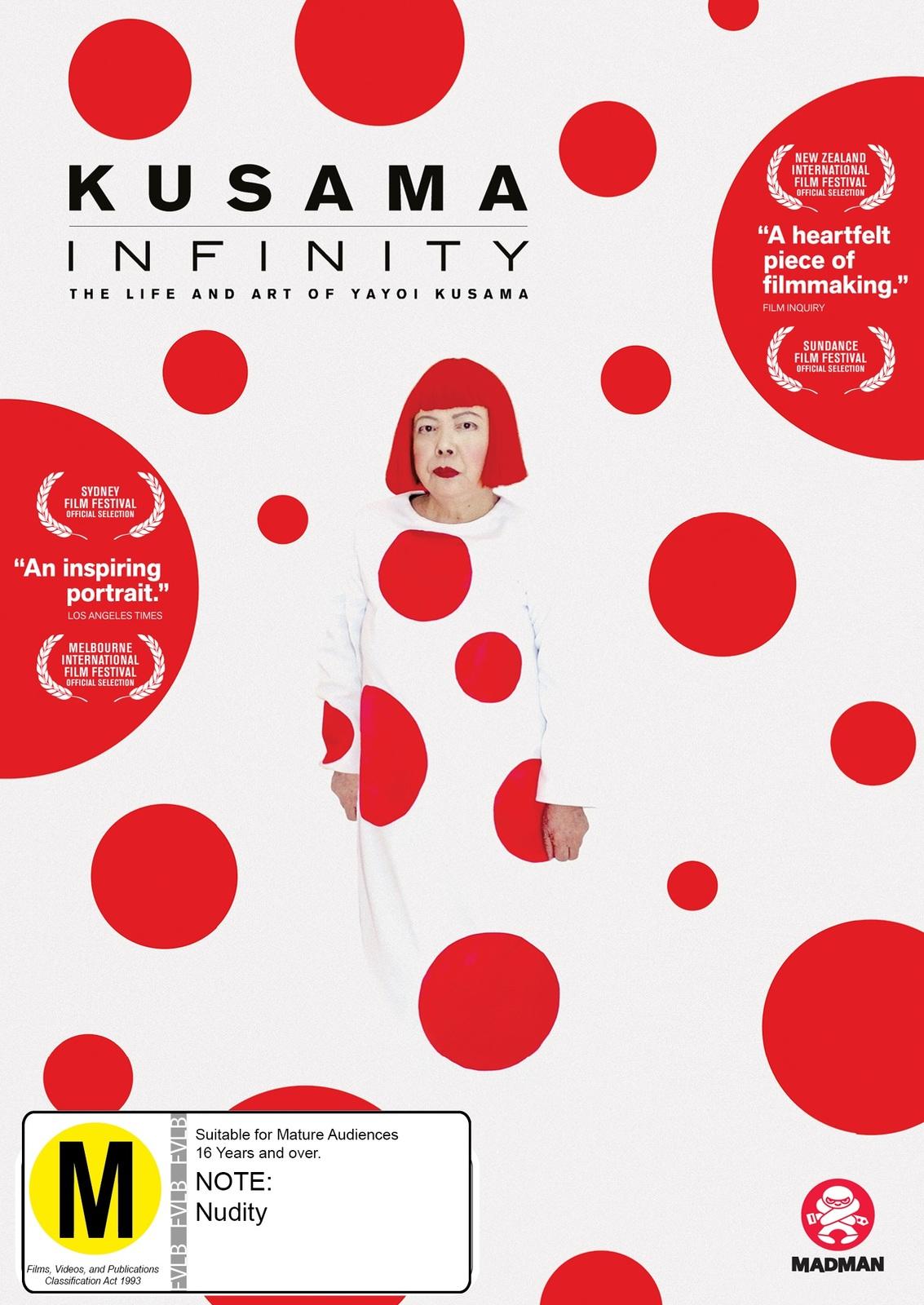 Kusama - Infinity on DVD image